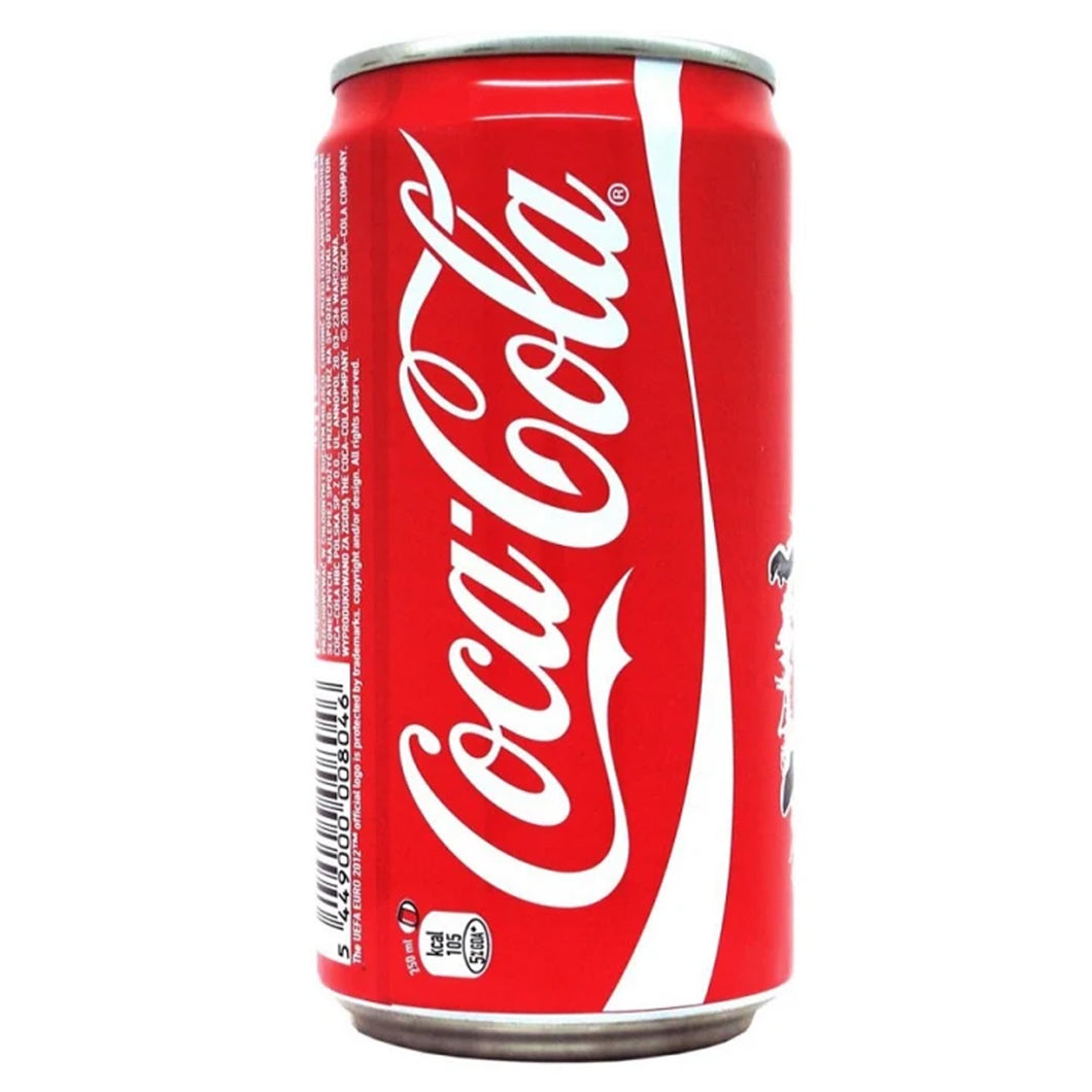 Cocacola can 250ml