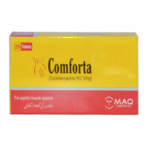 Comforta 10mg Tablet Genome Pharmaceuticals Cyclobenzaprine