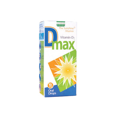 D-Max Drops 10ml Matrix Pharma Vitamin D Analogue Vitamin D3 (Cholecalciferol)
