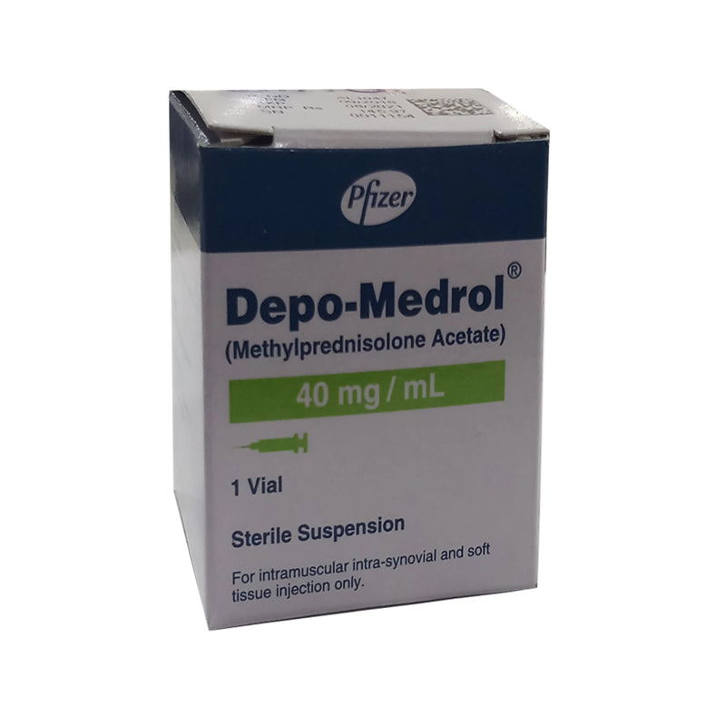 Depo-Medrol 40mg Injection Corticosteroids Pfizer Pakistan Methylprednisolone Acetate