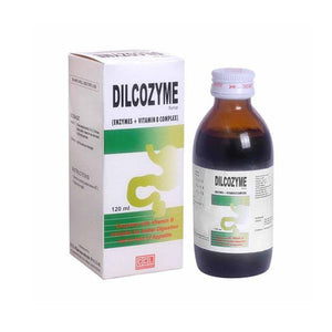 Dilcozyme Syrup 120ml CCL Pharmaceuticals Vitamins Preparations