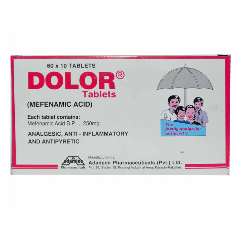Dolor Tab Tablet Adamjee Pharma Mefenamic Acid