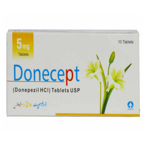 Donecept 5mg Tablet Anti-Alzheimer Donepezil Hcl Atco Pharma