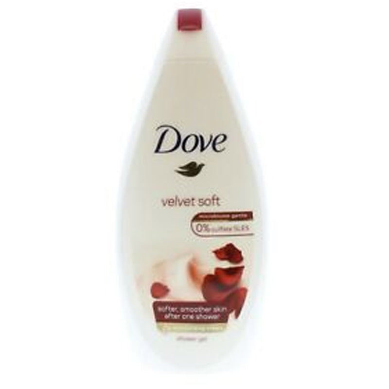 Dove Velvet soft shower gel 250ml jpg
