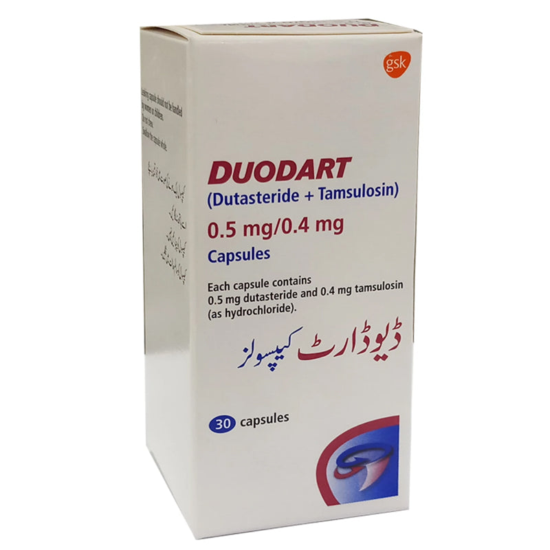 Duodart 0 5mg 0 4mg Capsule Chemistdirect Pk