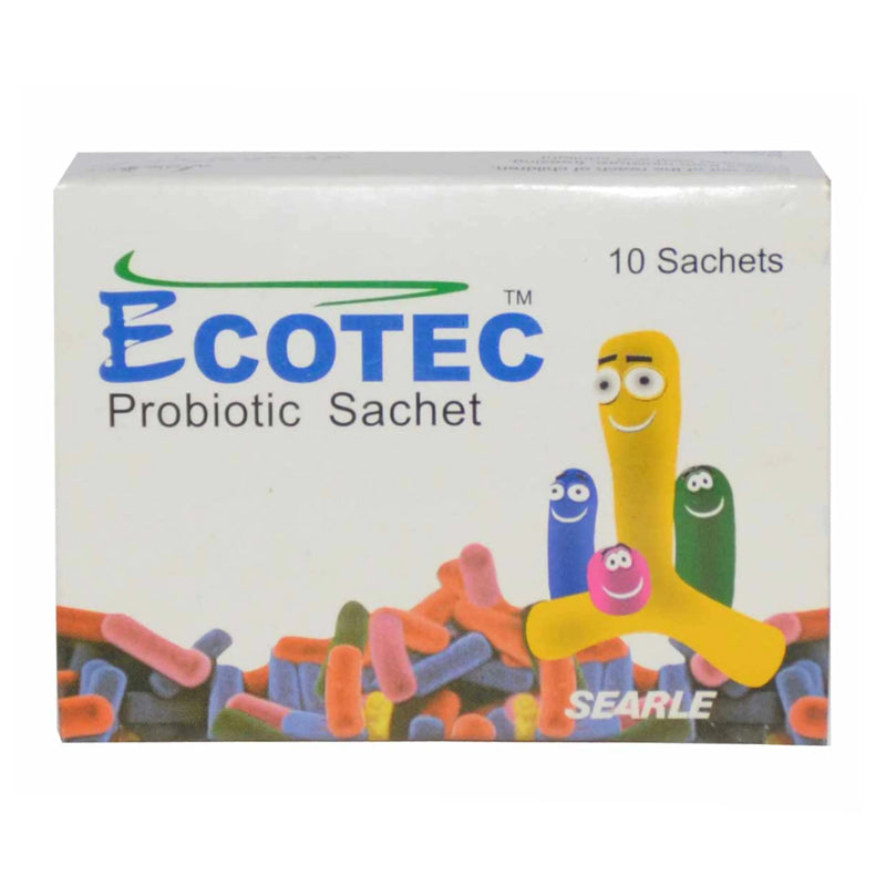Ecotec Powder Sachet Anti-Diarrheal Probiotic Searle Pakistan