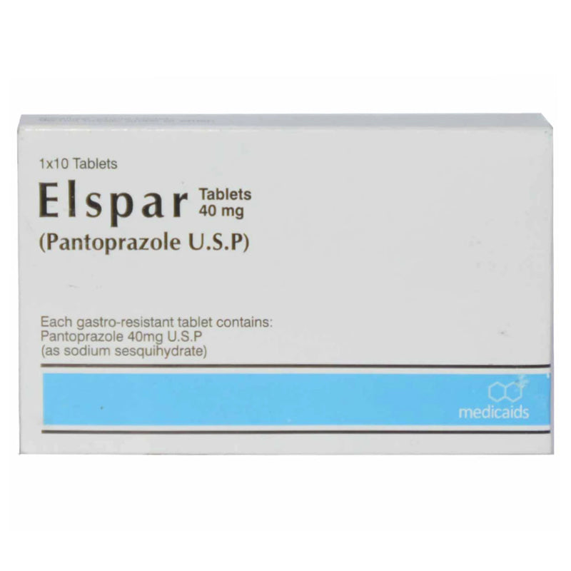 Elspar 40mg Tab Tablet Medicaids Pakistan PVT LTD Pantoprazole