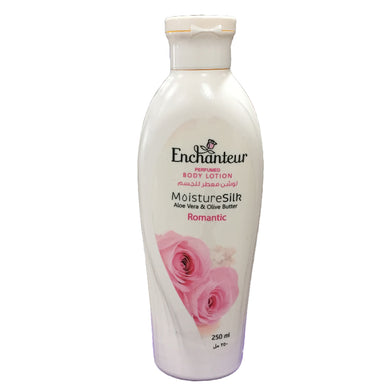 Enchanteur Perfumed Body Lotion Moisture Silk Aloe vera & Olive Butter 250ml