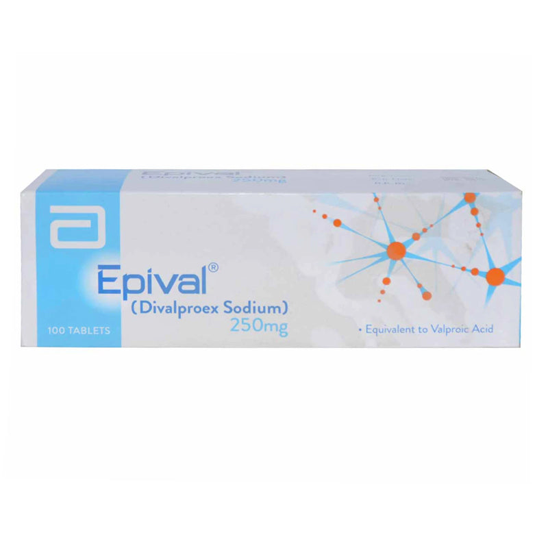 Epival 250mg Tablet Anti-Epileptic Divalproex Sodium Abbott Laboratories