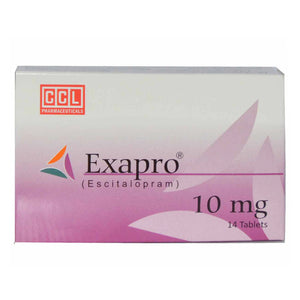 Exapro 10mg Tablet CCL Pharmaceuticals Anti-Depressant Escitalopram
