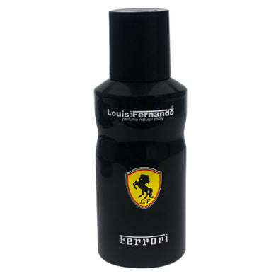 Ferrori Louis Fernando Perfume Natural Black Body Spray 150ml