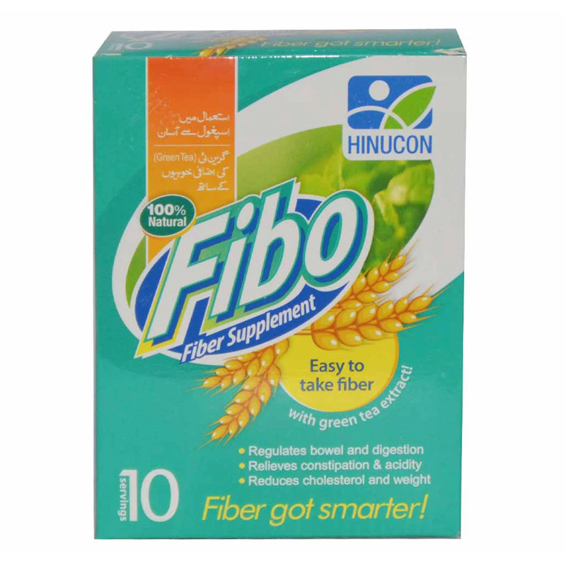 Fibo Powder Sachet Hinucon Herbal Preparation Wheat Dextrin Green Tea Extract