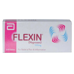 Flexin 500mg Tab Tablet Abbott Laboratories Pakistan Ltd Nsaid Naproxen