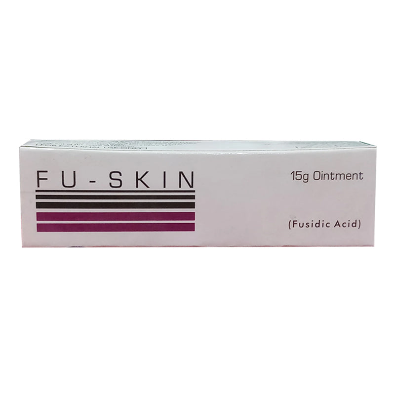 Fu-Skin 15Gram Oinment Anti-bacterial Fusidic Acid-Pharma Health Pakistan
