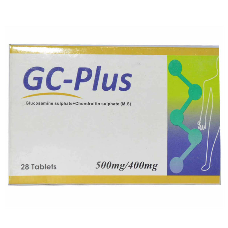GC Plus 500 400mg Tab Tablet Willshire Laboratroies Gloucosamine Sulphate Chondroitin Sulphate