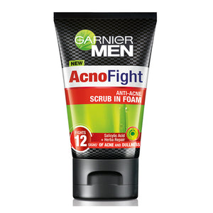Garnier Men AcnoFight Scrub in Foam 100ml