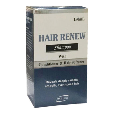 Hair Renew Shampoo 150ml Maxitech pharma Conditioner Hair Spftener