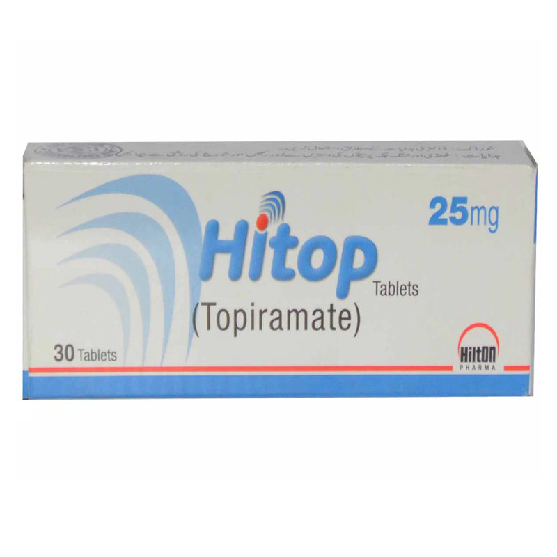 Hitop 25mg Tab Tablet Hilton Pharma Pvt Ltd Anti Epileptic Topiramate