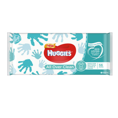 Huggies All over clean 56n wipes