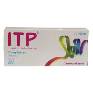 ITP 50mg Tablet Sami Pharmaceuticals Gastroprokinetics Itopride Hydrochloride