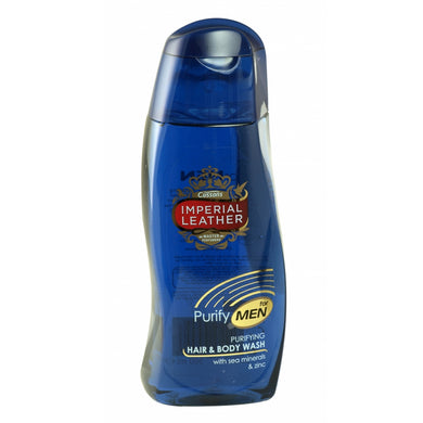 Imperial Leather Purify Hair and Body Wash 250ml
