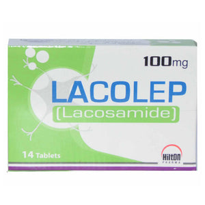 Lacolep 100mg Tab Tablet Hilton Pharma PVT LTD Anti convulsant Neuropathi Pain Lacosamide