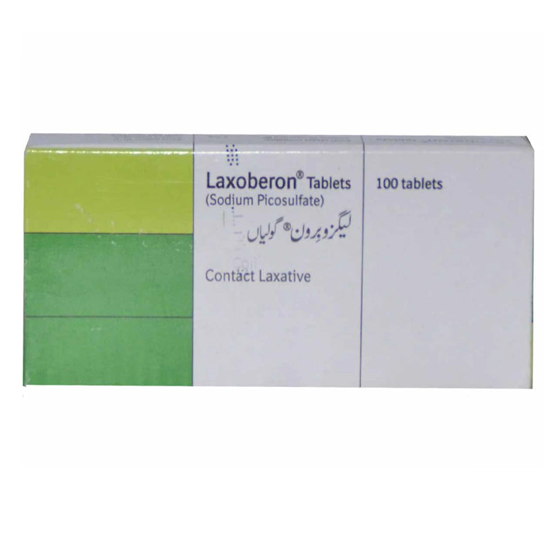Laxoberon Tab Tablet Martin Dow Pharmaceuticals Pak Ltd Constipation Treatment Sodium Picosulphate