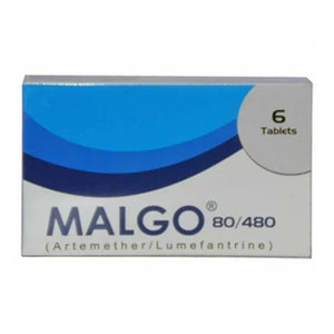 Malgo 80/480 Tablet CCL Pharmaceuticals Anti-Malarial Artemether Lumefantrine