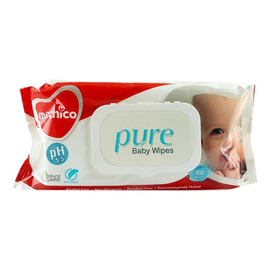 Mechico pure baby 80 wipes