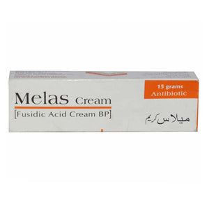 Melas Cream 15gram Anti-bacterial Fusiduc Acid BP Atco Loboratories
