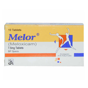 Melor 7.5mg Tablet Meloxicam Sami Pharmaceuticals Nsaid