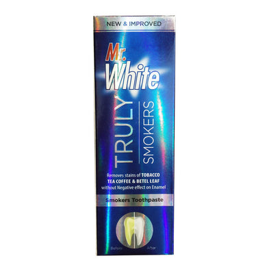 Mr White Truly Smokers Toothpaste 70gm