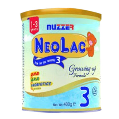 NeoLac 3 Growing Up Formula Vanilla Flavor 400gm