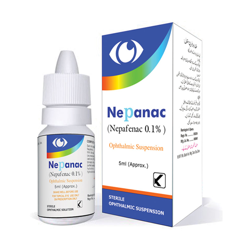 Nepanac 5ml Eye drop Kobec health Sciences Nepafenac 0.1%