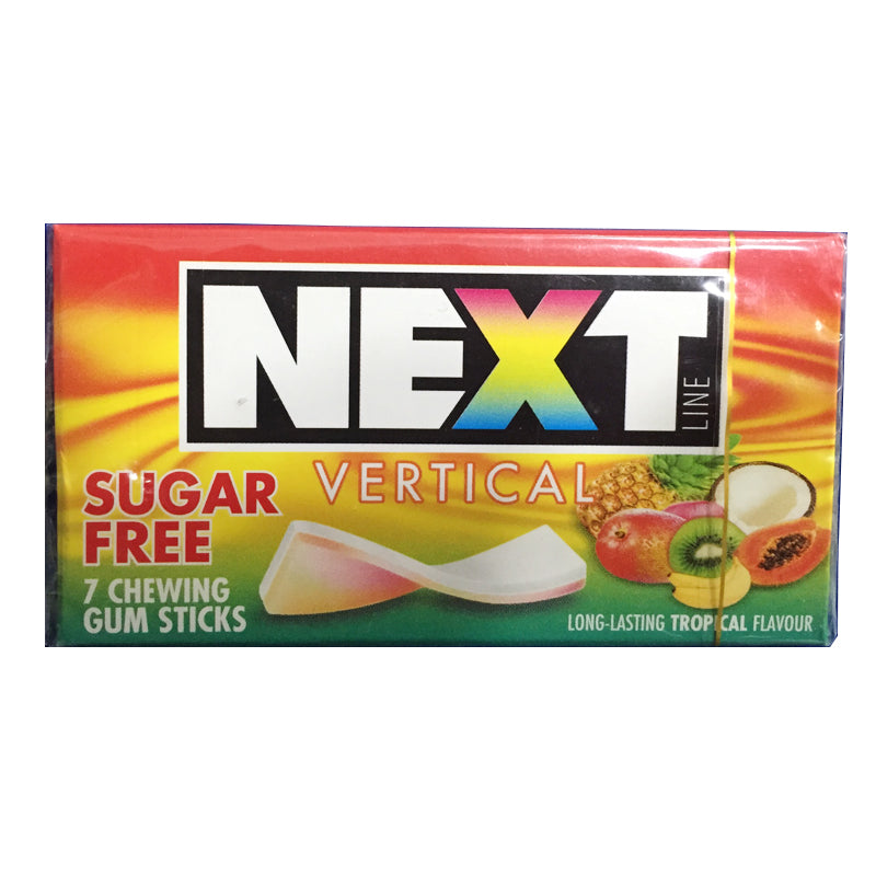 Next Vertical Sugar Free Chewinggum Sticks Tropical Flavour