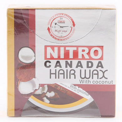 Nitro Canada Hair Wax With coconut 150g