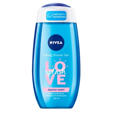 Nivea Aquatic Scent Love Splash Shower Gel 250 ml