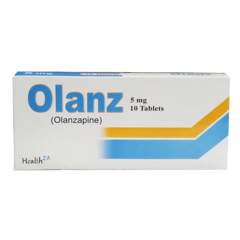 Olanz 5mg Tablet Health ZA Olanzapine