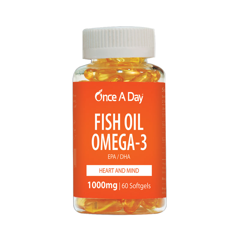 Once a day Fish Oil Omega 3 Softgel Capsule CCL