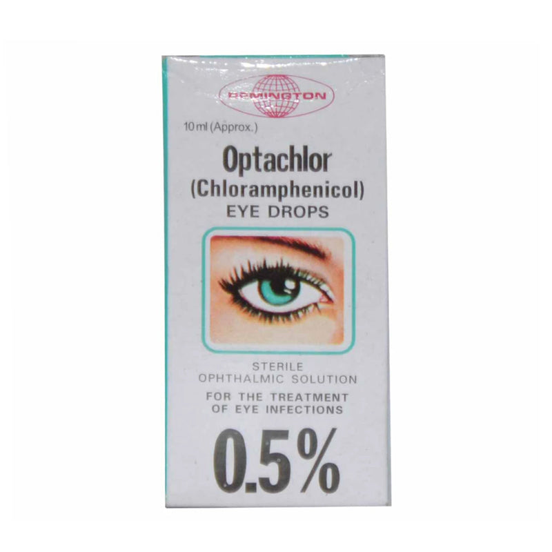 Optachlor Eye Drops 0.5% 10ml Remington Pharmaceuticals Anti-Infective Chloramphenicol