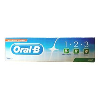 Oral-B 123 Mint Tooth Past 100ml jpg