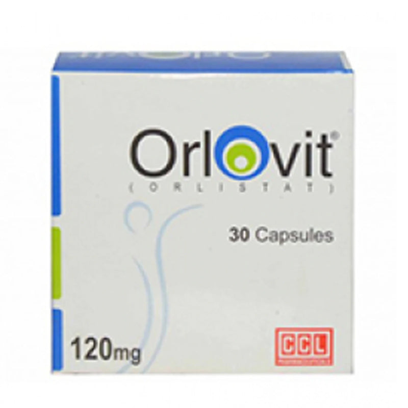 Orlovit 120mg Capsule CCL Pharmaceuticals Anti-Obesity Orlistat