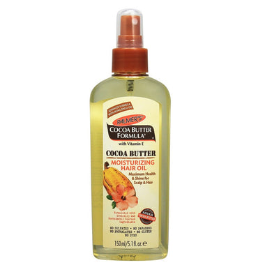 Palmer's Cocoa Butter Formula with Vitamin E Cocoa Butter Moisturizing Hair Oil, 5.1 oz 150ml 150ml