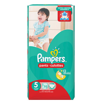 Pampers Pants Culottes 5 Junior 52 Pcs jpg