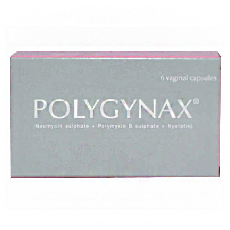 Polygynax Capsule ATCOLABORATORIES PVT LTD Anti Bacterial Neomycin Sulphate 35000IU Polymyxin B Sulphate 35000IU and Nystatin 100 000IU