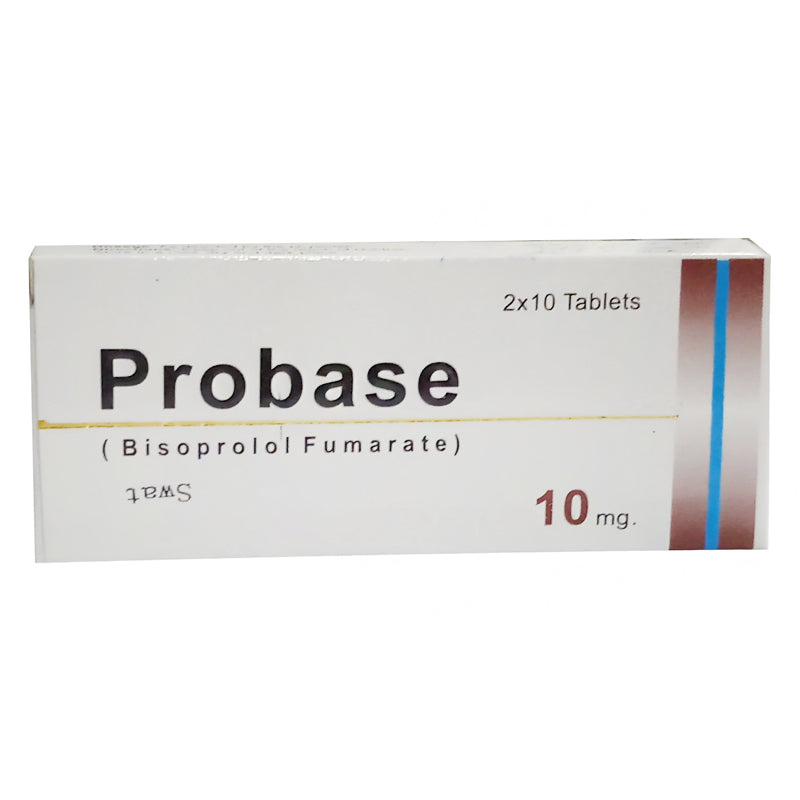 Probase 10mg Tablet Mass Pharma Anti Hypertensive Bisoprolol Fumarate