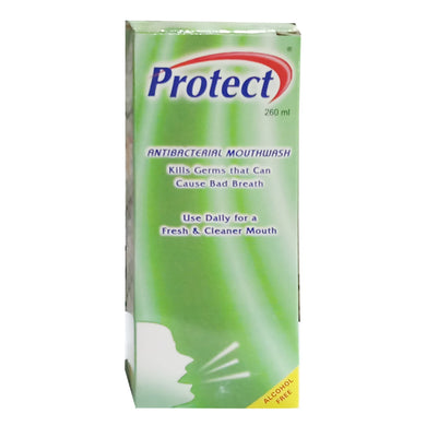 Protect Antibacterial Mouth Wash 260ml