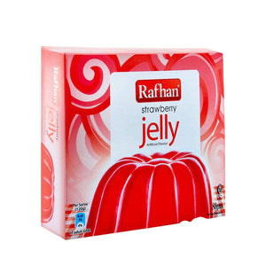 Rafhan Jelly Strawberry 80gm
