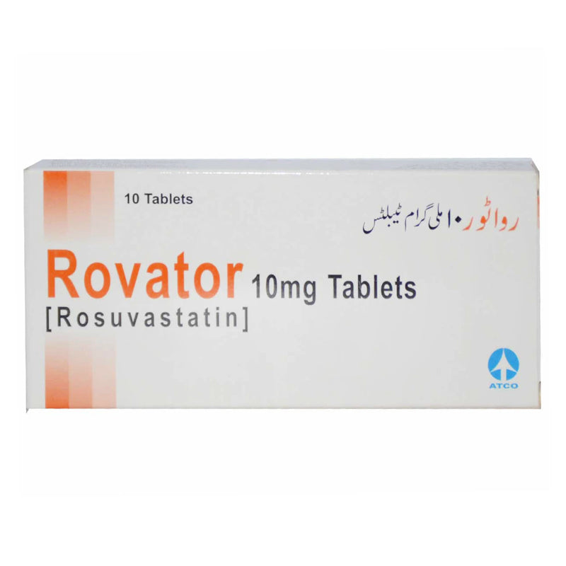 Rovator 10mg Tablet Atco Laboratories Pvt Ltd Statins Rosuvastatin