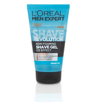 L'Oreal Paris Shave Revolution Non Foaming Shave Gel Sensitive­ 150ml